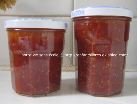 Confiture de tomates