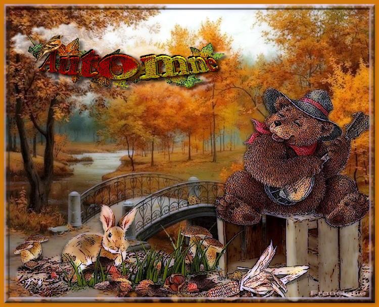 un bel automne pour vous mes amies et amis