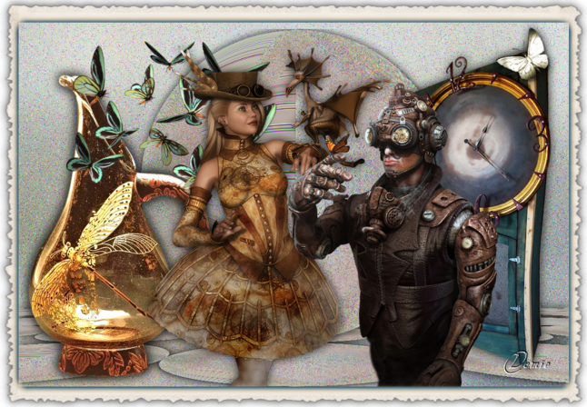 steampunk animaux