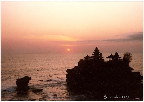 Voyage de Noces N° 18 : Bali Tanah Lot
