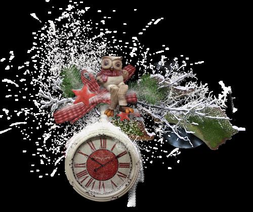 Tubes : Nouvel an horloge