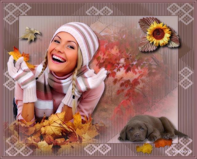 """Vos créations """"l'automne est là"""""""