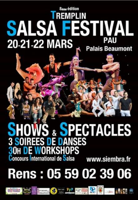 Tremplin Salsa Festival 2015 de Pau Béarn Pyrénées