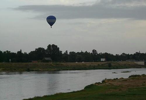 Montgolfière sur la Loire