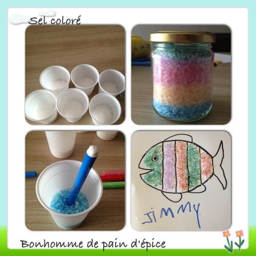 atelier sel coloré