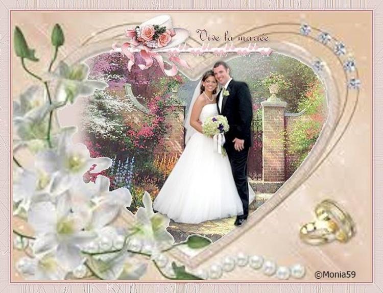 Défi vive les mariés