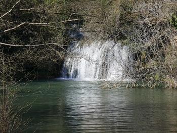 Zoom sur la cascade