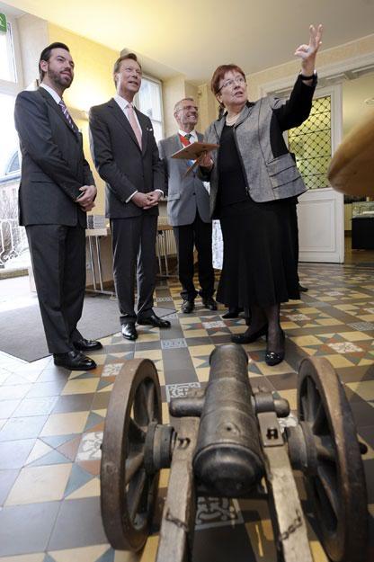 """Visite de l'exposition """"Literatur, Industrie, Politik"""" de la Maison Servais"""