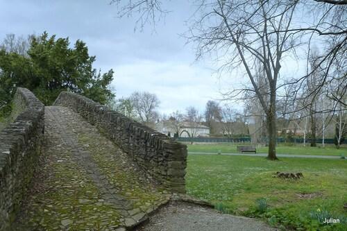 Villegly (Aude) : le vieux pont (2)