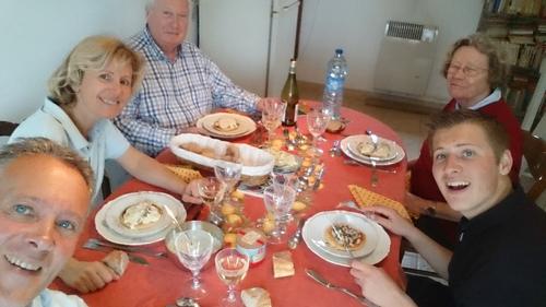 Invitation de Jean-Francois, un voisin de ponton