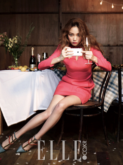 Lee Sung Kyung pour Elle