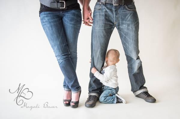 Une maman, un papa, une famille