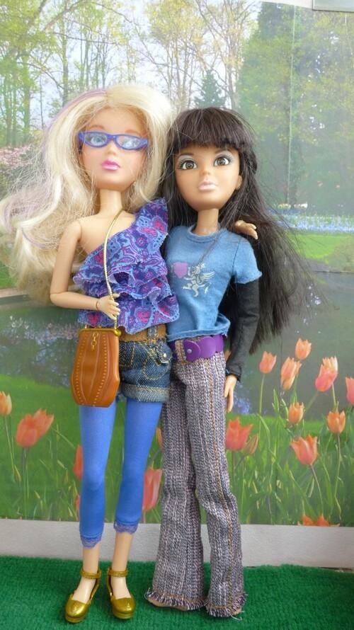 Les retrouvailles de Daniela et Sophie