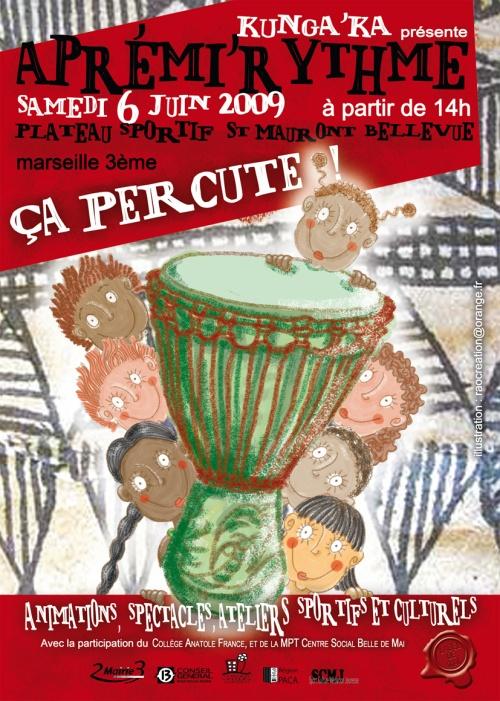 Aprémi'Rythme 2009 - Marseille - Plateau St Mauront