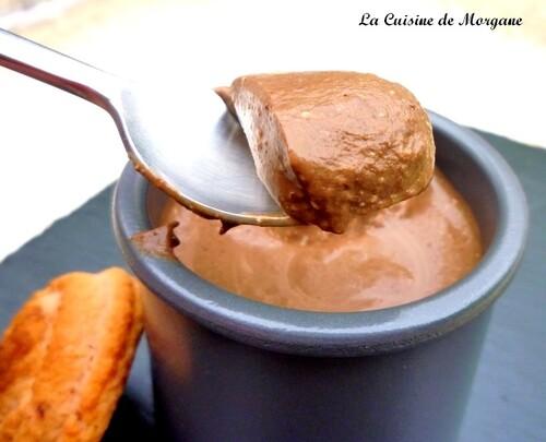 Crème au chocolat noir de C. FELDER (sans cuisson)