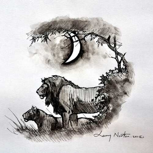 Famous artist from Vic Falls: Larry Norton