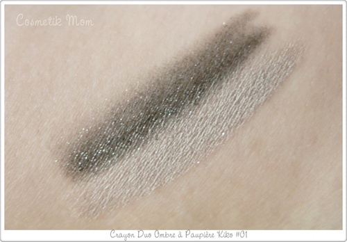 Creamy Touch EyeShadow Duo #01 KIKO