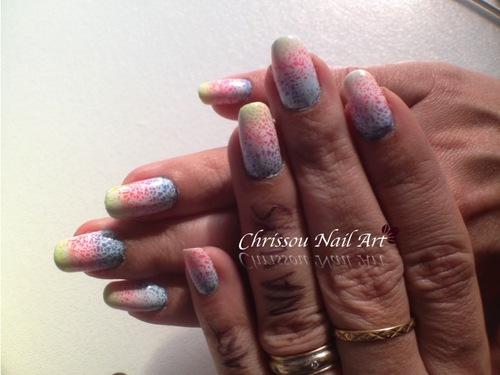Stamping coloré