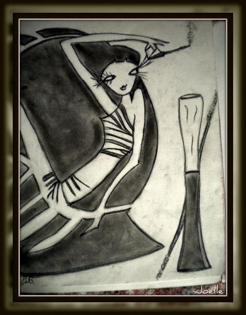 Le Pastel mine de plomb crayon graphite gras