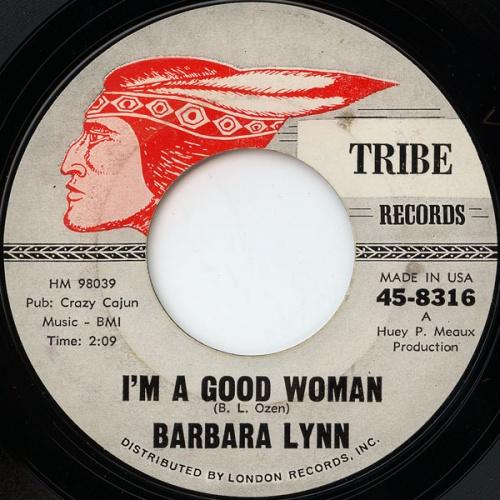 Barbara Lynn : I'm A Good Woman