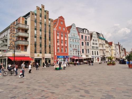Promenade dans Rostock en Allemagnne (photos)