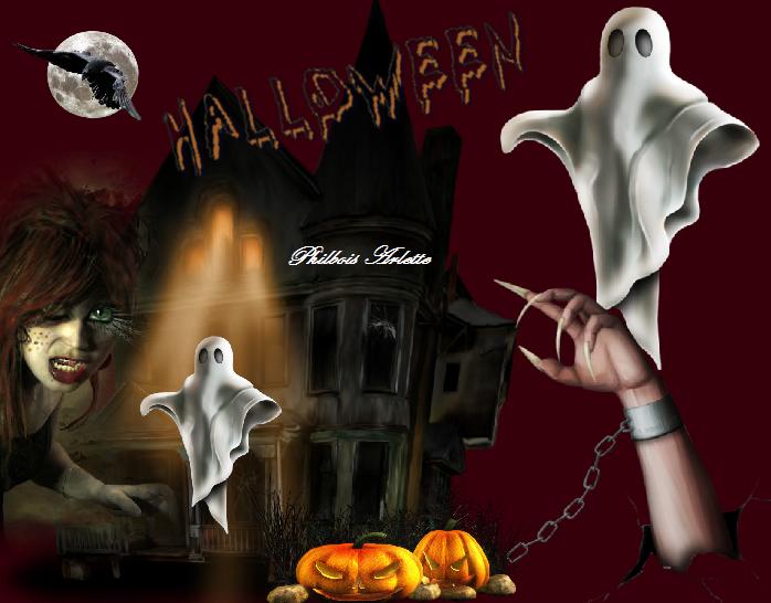 Défi Halloween chez Lenaïg