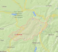 Situation locale de la Bresse