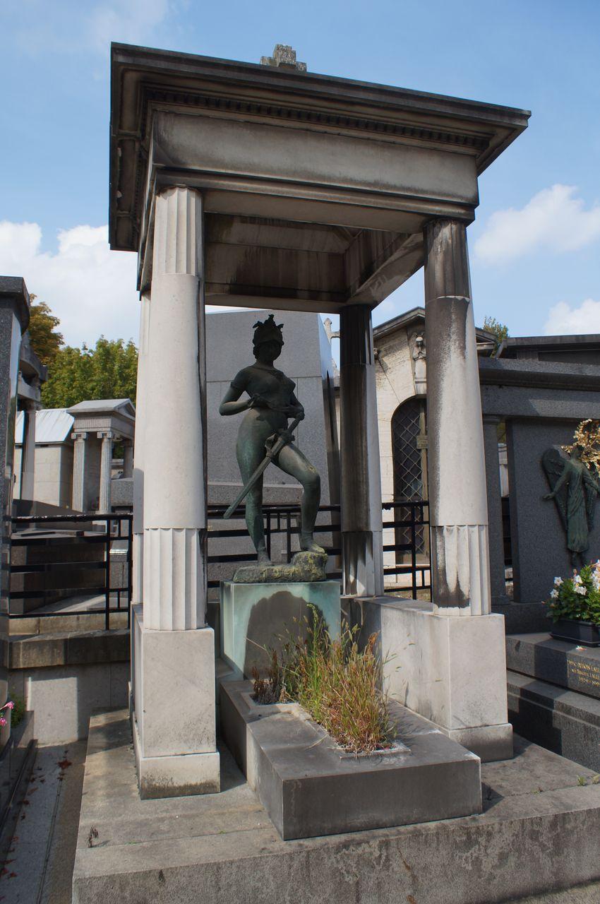 rêve chercher un cimetière