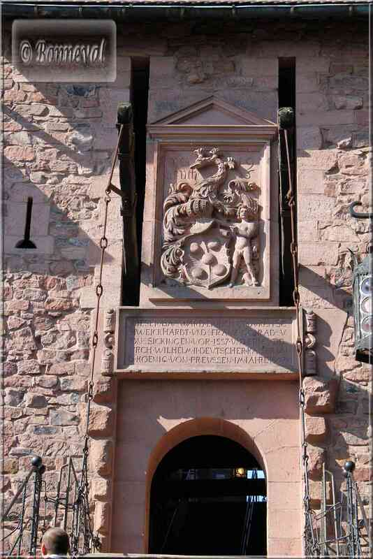 Haut Koenigsbourg le Grand Bastion pont-levis