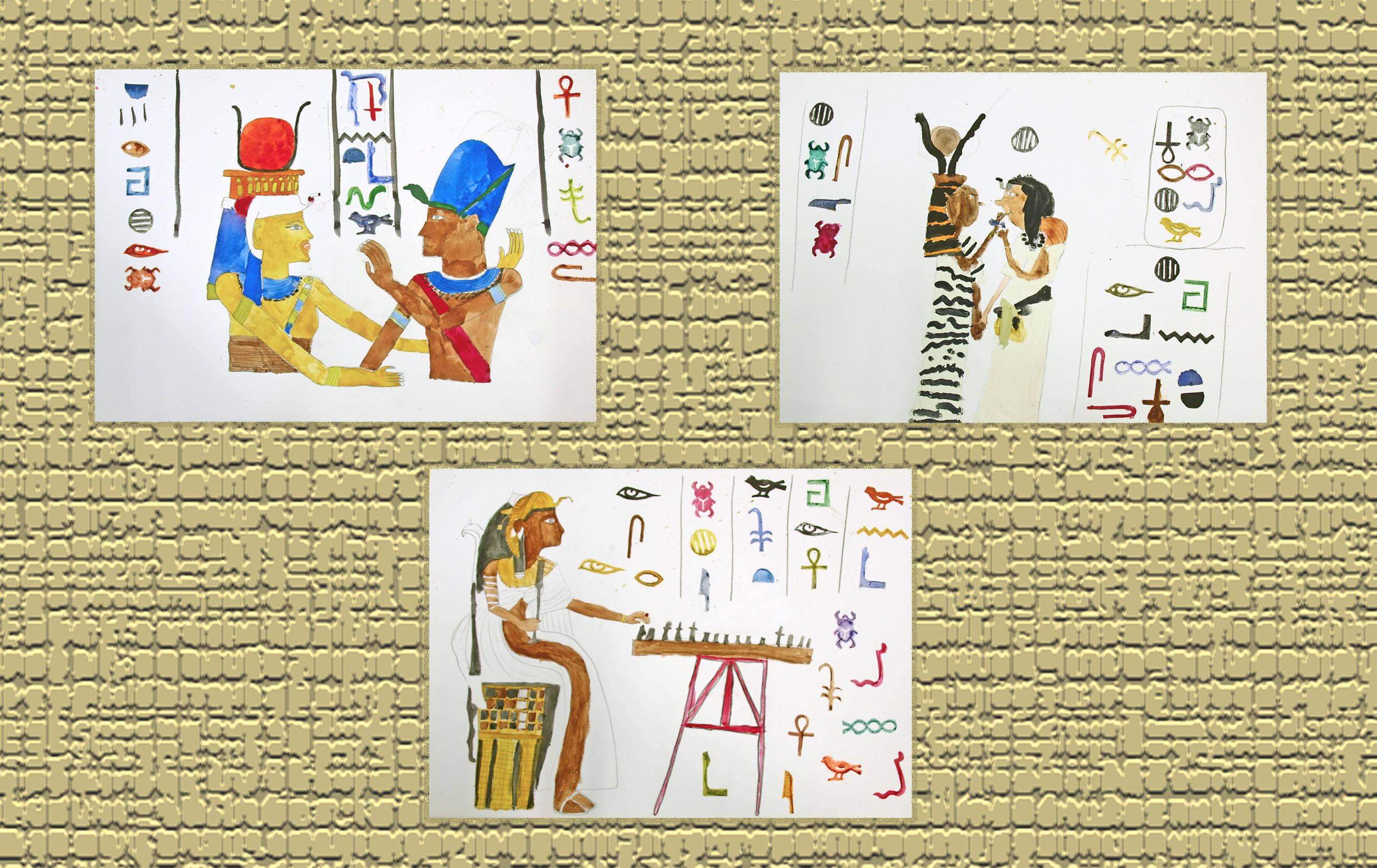 Coloriage Egypte Antique Maternelle.L Antiquite Atelier D Arts Plastiques Pour Enfants
