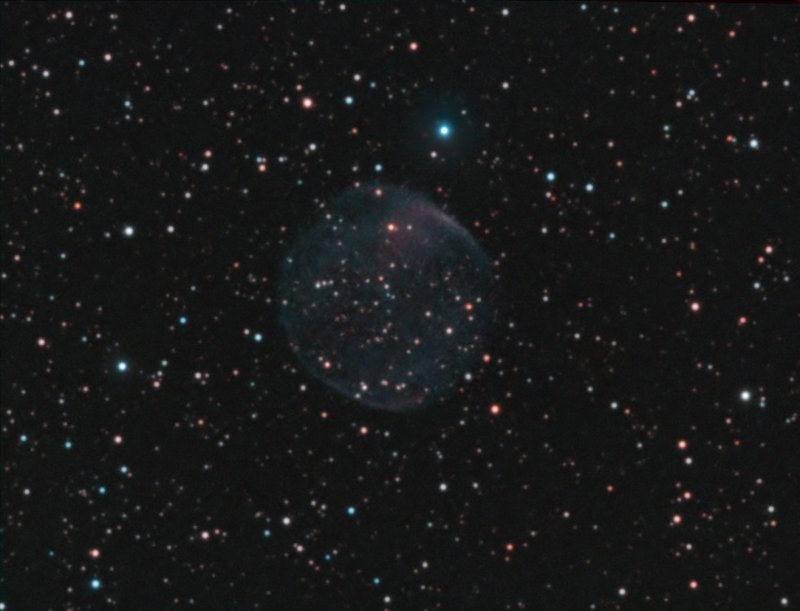 Fe 6 planetary nebula