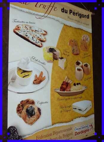 Boutique de l'Ecomusée de la truffe à Sorges.