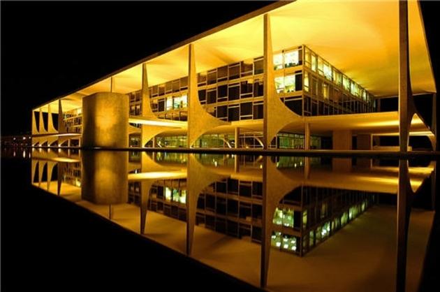 Palais du Planalto à Brasilia