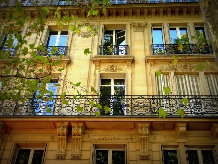 Façade à Paris