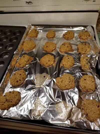 Biscuit Avoine-Banane-Choco
