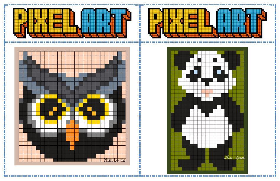 Connu Fichier modèles Pixel art pour les temps d'autonomie - Chez Val 10 RY24