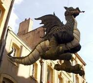 Un dragon à Metz