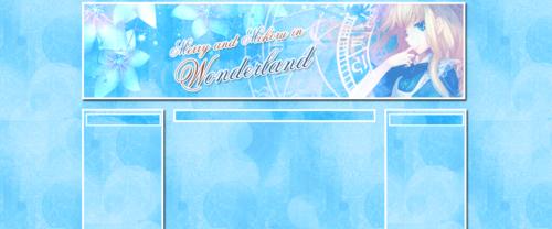 Thème Alice in Wonderland