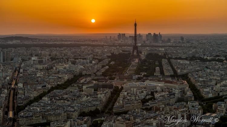 Paris : la capitale vue de la tour Montparnasse