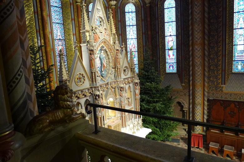 BUDAPEST (suite de l'église Mathias)