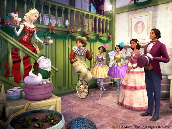 Fond d'écran Barbie et La Magie de Noël 3
