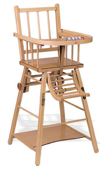 CHAISE HAUTE D'ENFANT (CHILD'S HIGH CHAIR)