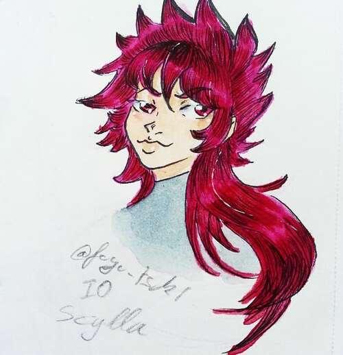 mes dessin n°118 saint seiya ( les chevaliers du zodiaque)