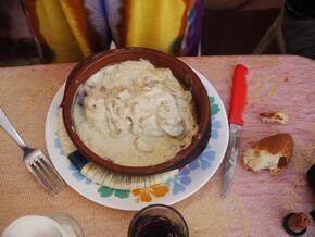 Mulet à la crème