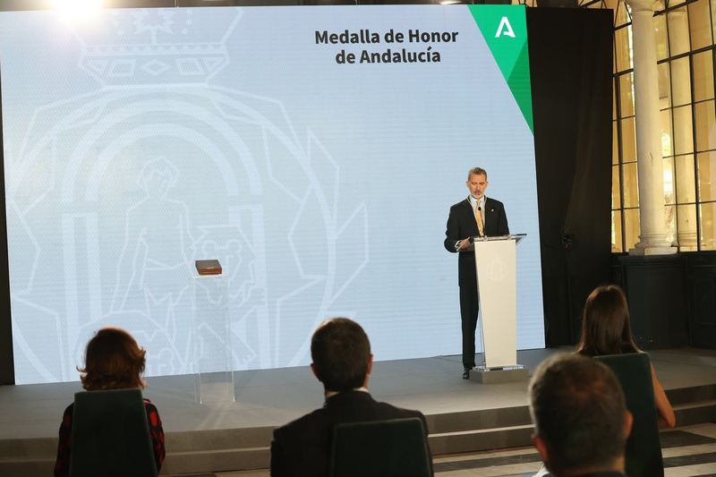 Primera Medalla de Honor de Andalucía.
