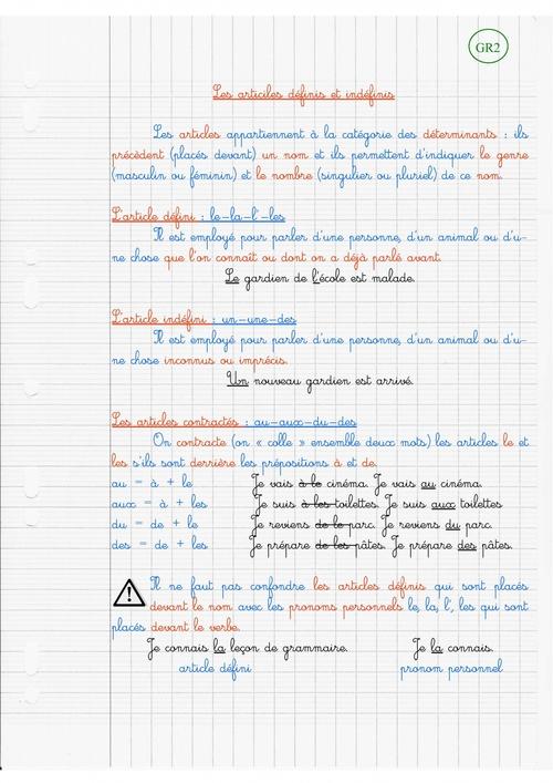 Leçons en étude de la langue