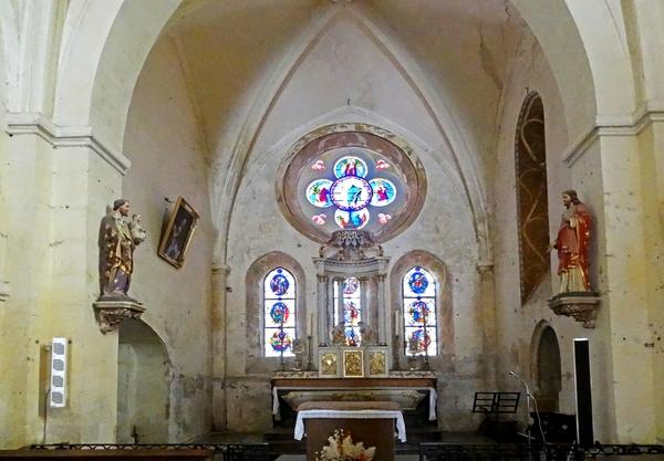 L'église de Gurgy le Château