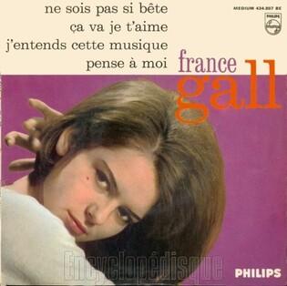France Gall, 1963 premier 45 tours