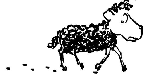 Le mouton noir en ballade