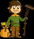 L'Histoire en dessins - Le Moyen-âge : le paysan
